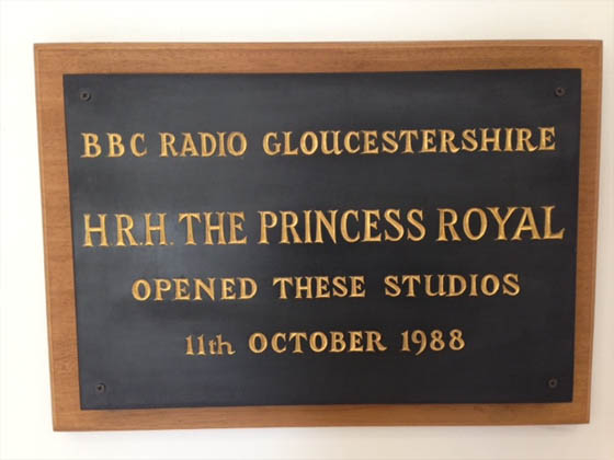 BBC Radio Glos - Princess Royal