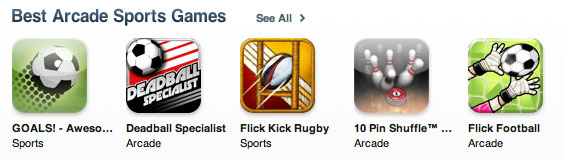 Flick Football Best Arcade Sports Game