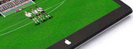 Flick Football goes iPad
