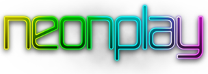 Neon Play logo - return to the homepage...