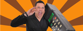 Dom Joly is live!